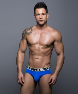 Vibe Sports & Workout Tagless Brief - Navy
