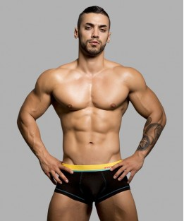 Almost Naked Cotton Boxer - Black